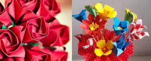 """Workshop de Origami """"Rosa Kawasaki e outras flores"""""""